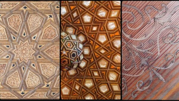 How to do wood inlay